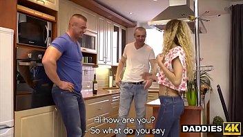 Naughty Dad Seduces & Fucks His Son's Hot Hungarian Girlfriend