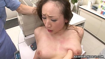 Ayumi Wakana is getting banged hard with a fucking machine 5 min