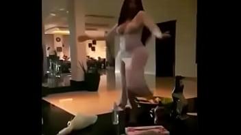 رقص قطري للبنات منزلي ساخن جدا لا يفوتك - YouTube.MP4 video