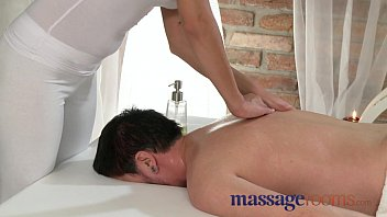Massage Rooms Innocent Young Masseuse Slides Clients Big Cock Into Her Wet Pussy