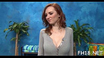 Sex massage movie scene
