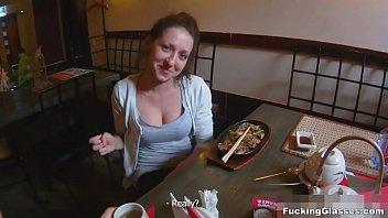 Fucking Glasses - Restroom Fuck Inna In Spycam Glasses