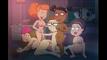 cartoon orgy