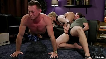 Cuckold Hubby Gets Busty Wife Banged