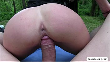 Gorgeous babe Emily gets tricked by an agent and she gets banged