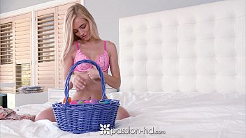 Passion-HD - Alex Grey finds a indecent way to have fun with Easter eggs 10 min