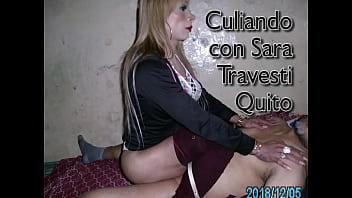 Sara Transexual Prepago Quito culiando a Travesti Pasiva haciendola chillar y gemir a vergasos Ecuador Sexual Trans culona Sexo anal con Transexual de Quito Macho culiando a Travesti de Ambato
