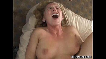 A hot blonde milf is watched get fucked by a big cock porn image