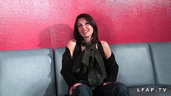 French cougar sodomized and double penetrated for her porn casting 41 min