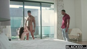 Sexstreaming: Blacked Evelyn Claire Takes On Two Bbc'S thumbnail
