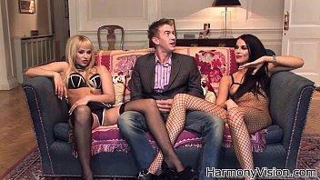 Fishnet fetish Harmony vision danny d has a huge dick