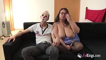 INSATIABLE: BBW MILF wants a giant cock up her ass!! 46 min