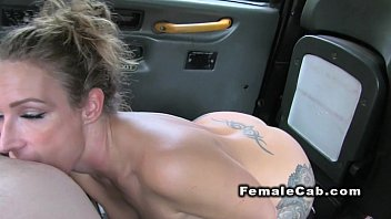 Image: Hot babe rims big dicked cab driver in back seat