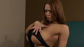 Big Titty Redhead Stripper in Slutty Dress