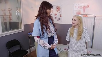 Literotica reaming her ass - Lesbian doctor examines blondes tight ass