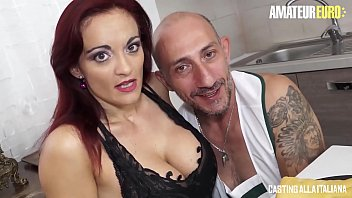 AMATEUR EURO Italian MILF Mary Rider Feeds Her Horny Holes h Big Cock