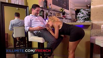 French bartender having hot anal sex with Rose Valerie