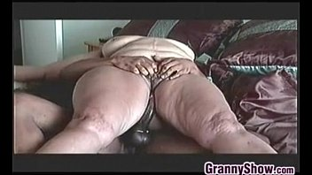 Black dicks in grannies - Big granny on riding some thick cock