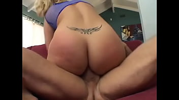 Horny stud  pop his cookies on biscuits of charming fair-haired cornpone Georgia Peach after she had been putted from the rough