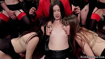At swingers party hot sluts orgy banging