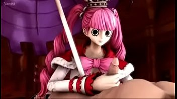 One piece perona handjob 3D