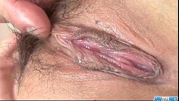 Rui Natsukawa brunette babe devours cock in hardcore 12 min