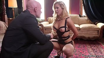 Old Butler Anal Fucks Mom And Teen Bdsm