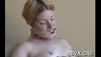 Staggering gf in lingerie is rubbing her snatch