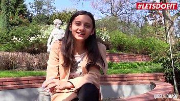 LETSDOEIT - Ukrainian Slim Brunette Teen Shrima Malati Have A Really Good Time Masturbating On Cam