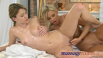 Massage Rooms Silky skin on skin young lesbian climax thumbnail