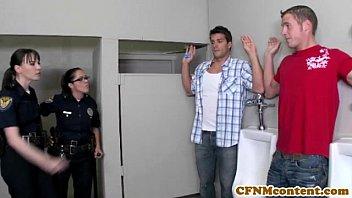 Dana Dearmond hot cop gets facialized