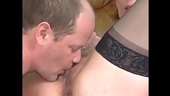 Horny MILF Ymgrid spreads her legs apart to get wet pussy eating Vorschaubild