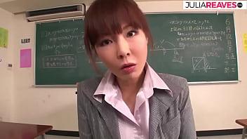 Tokio female teacher fucks in the class room, japanese uncensored movie 13 min