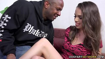 Mia Monroe Takes Her First Ever Black Cock