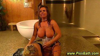 Golden shower fetish slut