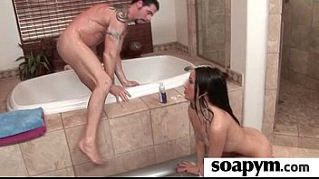 Soapy Massage and Shower Blowjob 5