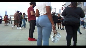 Slim-Thick Booty at Kanye West Album release concert