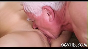 Old dude fucks young soaked pussy thumbnail