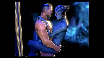 Mass swinger Mass effect - samara and shepard romance - compilation