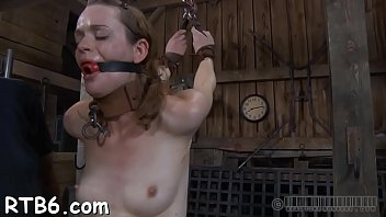 Smooth ass balls - Sexy whipping for beautys ass