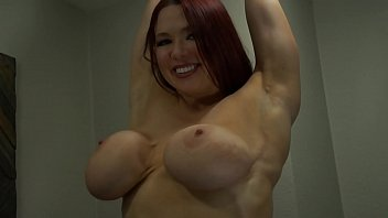 Amber nash strip Busty redhead slut cums with glass g-spot toy