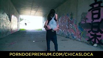 CHICAS LOCA - Beautiful teen babe Evelina Darling fucked outdoors 8 min