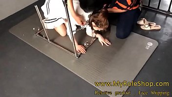 Asian girl in chain 32 min