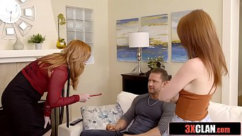 His Stepmom and Stepsister Really Want To Fuck Him (Athena Rayne, Edyn Blair)