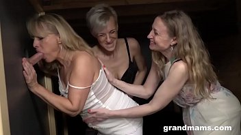 Tgp stockings orgy - Triple blonde granny orgy