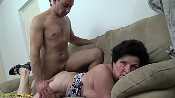 Extreme hairy grannies - Extreme hairy 86 years old mom needs a young dick
