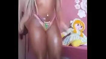 hot blonde dancing funk
