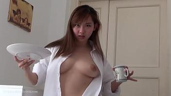 Perfect Cute Fun Asian 18yo Teen Sex At Home