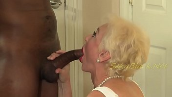 Horny wife and black cock - Sekas interracial sex with hubbys big black driver