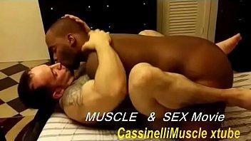 Huge bodybuilder...